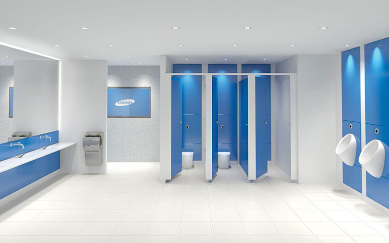 Eclipse Glass Toilet Cubicle