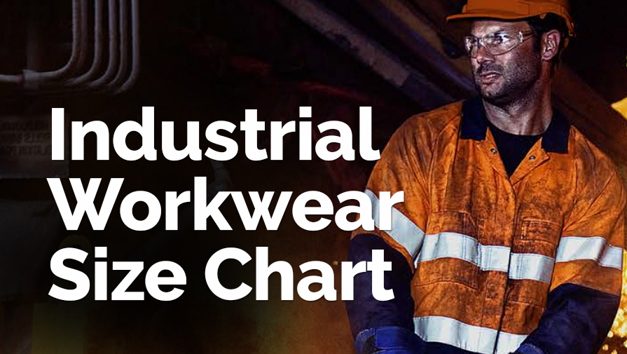 Industrial Workwear Size Chart
