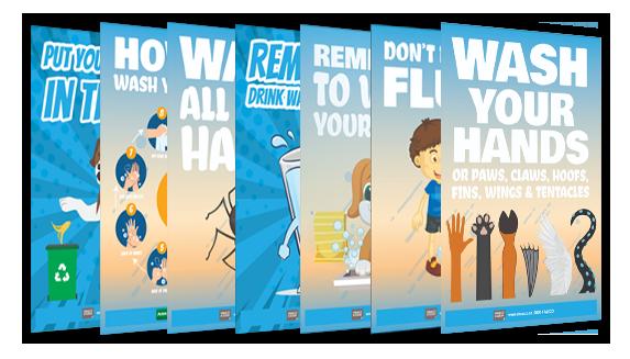School Hygiene Posters