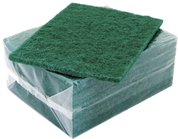 Bastion Scouring Pads Green 10 Pack