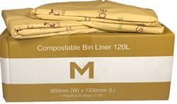 Compostable Bin Liner 120L
