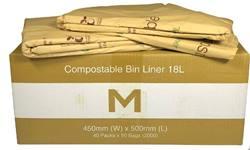 Compostable Bin Liner 18L