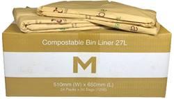 Compostable Bin Liner 27L
