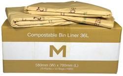 Compostable Bin Liner 36L