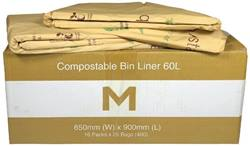 Compostable Bin Liner 60L