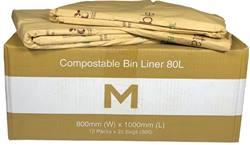 Compostable Bin Liner 80L