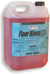 Floor Kleen Clean, Sanitise, Spray Buff