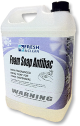 Foam Soap Antibac Non-Fragranced hand soap for foam dispensers