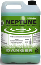 Kemsol Green Neptune Toilet Bowl Cleaner