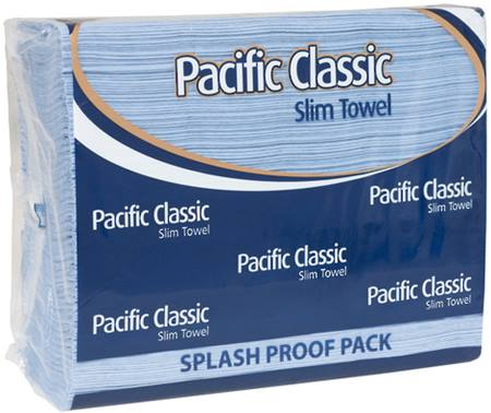 Blue Pacific classic slim towel