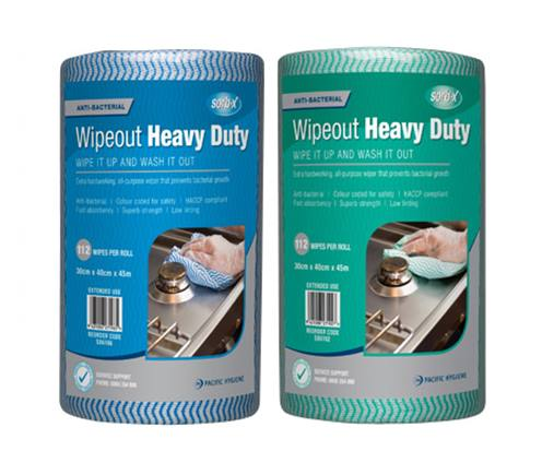 gren and blue sorb-x heavy duty wipes