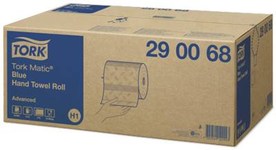 Tork matic advanced blue hand towel roll