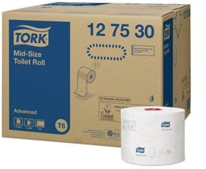 Tork Mid-Size Toilet Roll T6
