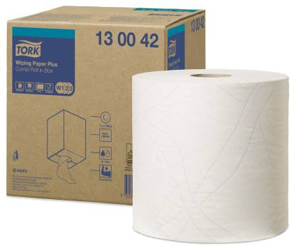 Tork Wiping Paper Plus Combi Roll W1/W2/W3