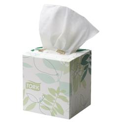 2ply facial cube tissue