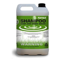 Kemsol green hair and body shampoo