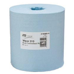 basic wiper centrefeed blue 1-ply m2