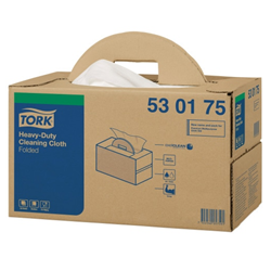 Tork Heavy-Duty Cleaning Cloth Folded Handy Box