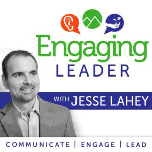 photo of Jesse Lahey of engaging leader