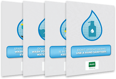 Free download of washroom hygiene posters