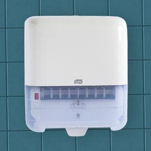 Tork paper towel dispenser