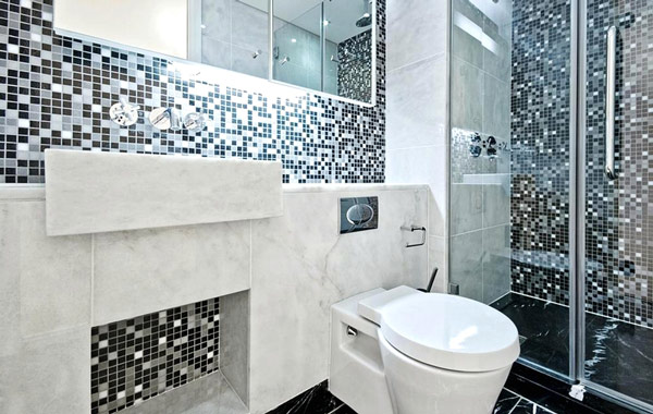 mosaic bathroom floor tile