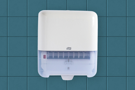Tork paper towel dispenser