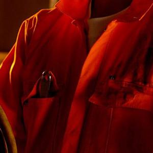 orange industrial workwear
