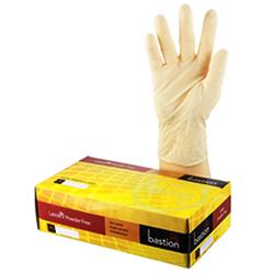 Bastion Latex Powder Free Gloves Medium