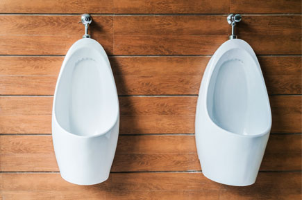 Male tidy urinals