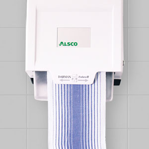 Wall cloth towel dispenser