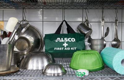 Alsco first aid kit bag