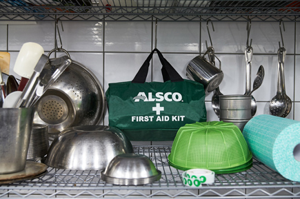 Alsco first aid kit bag