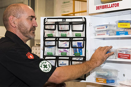 Alsco first aid kit personnel