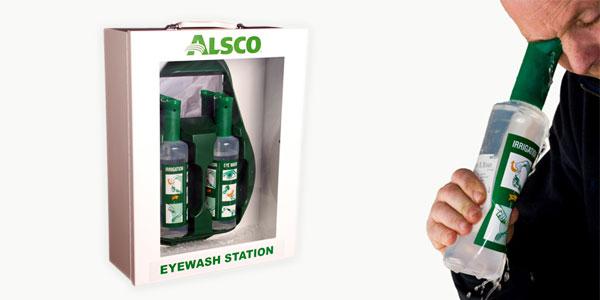 Eyewash stations box