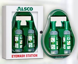 First Aid Eyewash Station