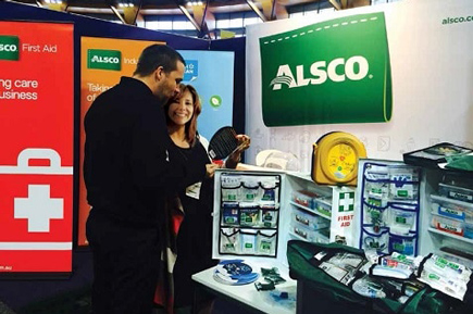 alsco first aid kit exhibits