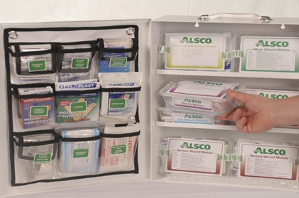 Alsco First Aid kit restocking