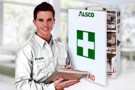 Alsco first aid staff