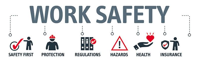 Work safety info
