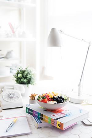 A healthy bowl of berries fresh clean calendar