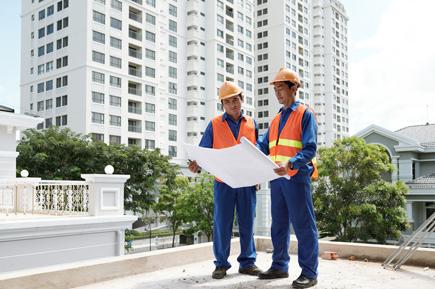 Checking construction plan